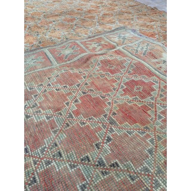 Textile Beni Mguild Vintage Moroccan Rug - 6′3″ × 9′5″ For Sale - Image 7 of 9