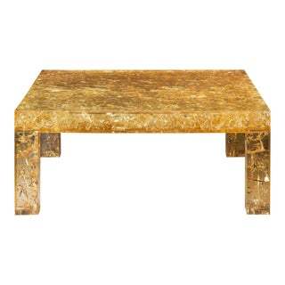 Pierre Giraudon Resine coffee table