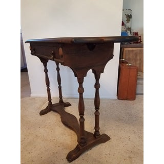 Antique 1930s Wooden Writing Desk Preview