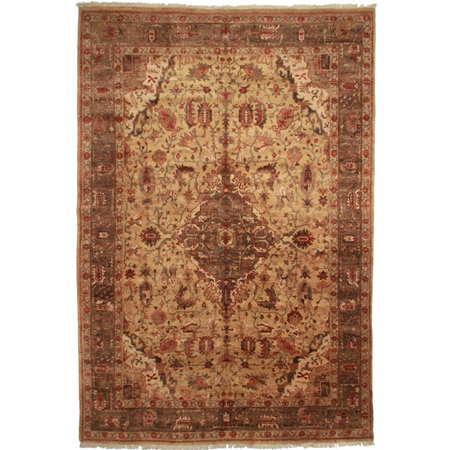 Oversize Persian-Style Rug - 10′8″ × 15′10″ For Sale