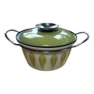 1950s Scandinavian Modern Cathrine Holm Norwegian Lidded Casserole Pot - 2 Pieces