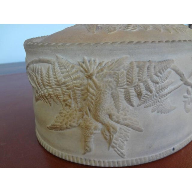 Mid 19th Century Antique French Caneware Game Pie Dish For Sale - Image 5 of 11