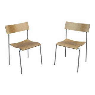 1992 Sweden Johannes Foersom for Lammhults Campus Ab Chairs - a Pair For Sale