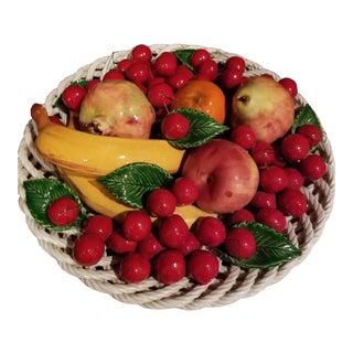 Capodimonte Fruit Platter For Sale