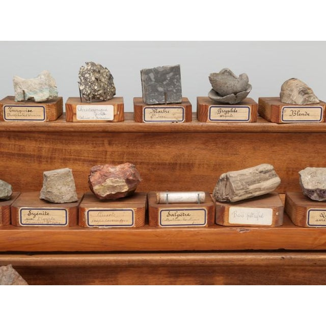 1891 French School Mineral Specimen Collection - 200 Pc. Set For Sale In Chicago - Image 6 of 13