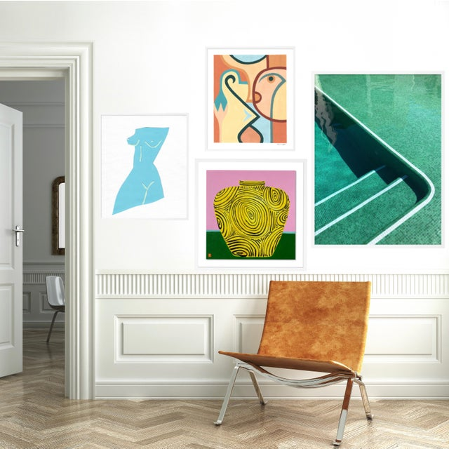 Contemporary Bodrum Gallery Wall, Set of 4 For Sale - Image 3 of 11