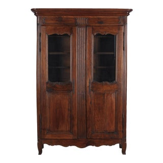 18th Century Louis XIV Transition Period Armoire For Sale