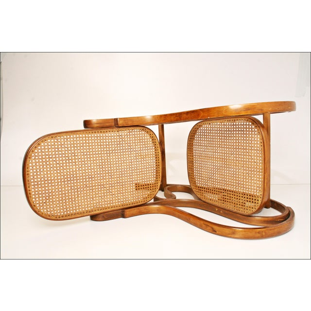 Vintage Thonet-Style Bentwood Cane Rocking Chair - Image 5 of 11