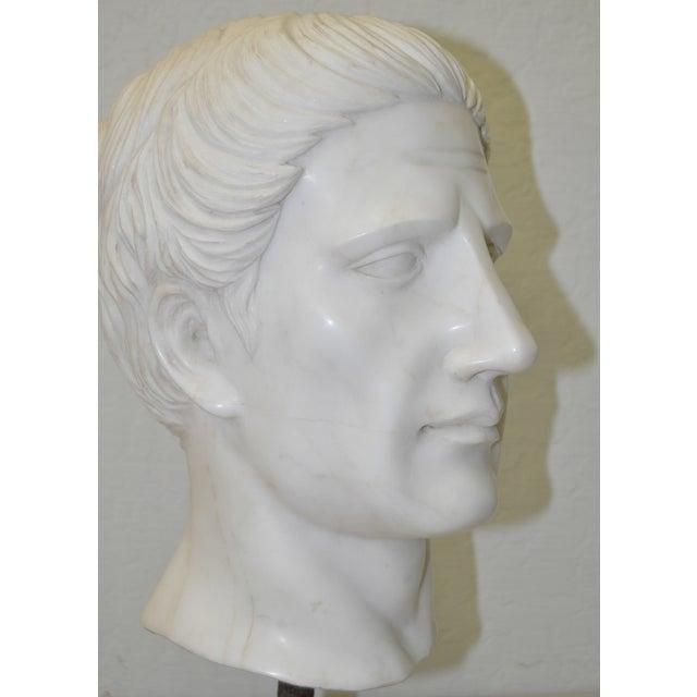 Italian Marble Roman Bust C.1950 - Image 4 of 6