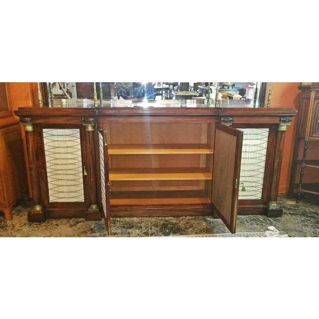 Early 19c English Chiffonier in the Manner of Gillows For Sale - Image 10 of 13
