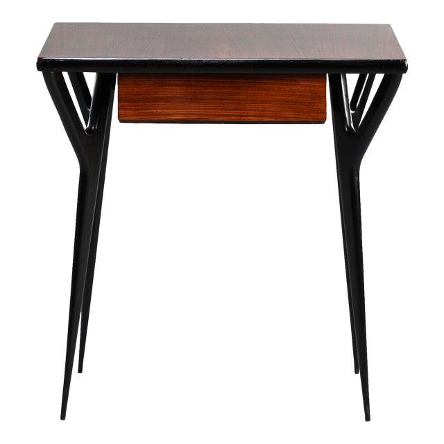 Small Mid Century Italian Desk For Sale