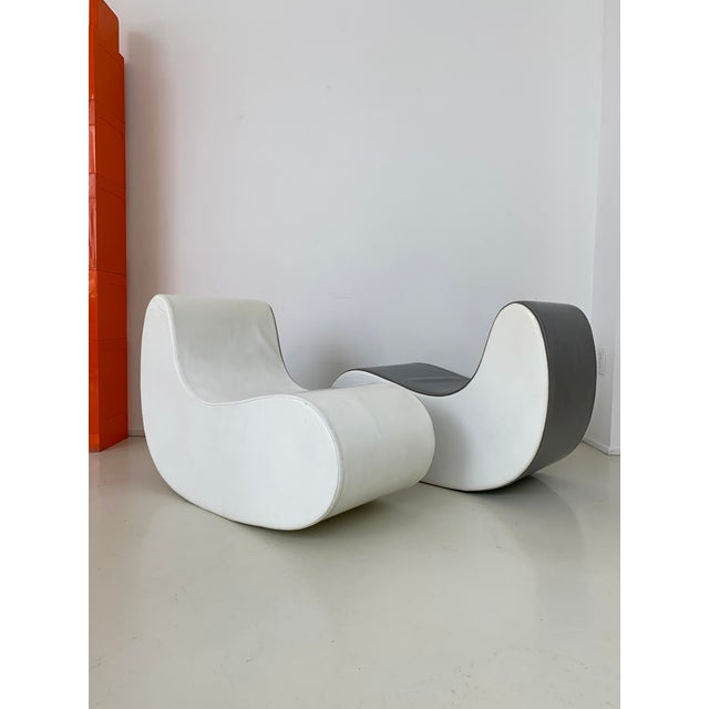 1960s Italian Rocking Boomerang Chairs - a Pair For Sale - Image 12 of 12