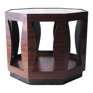 Mid-Century Modern Octagonal Side Table For Sale