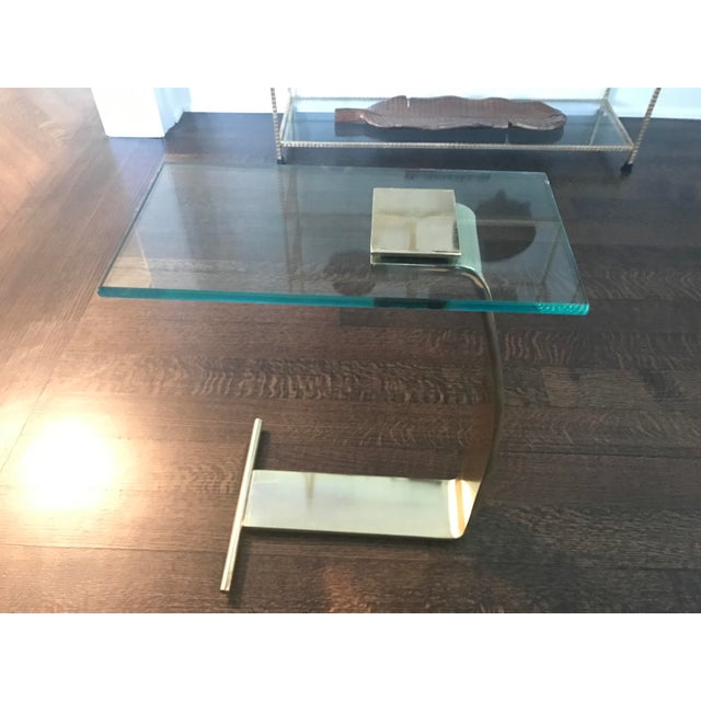 Dia Brass & Glass Side Tables - A Pair - Image 4 of 7