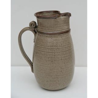 1970's Studio Pottery Pitcher Preview