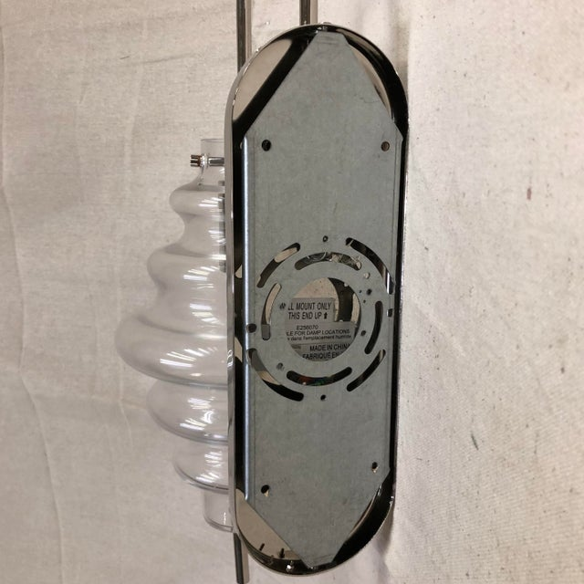 Contemporary Kelly Wearstler Tableau Wall Sconce in Polished Nickel and Clear Glass For Sale - Image 3 of 5