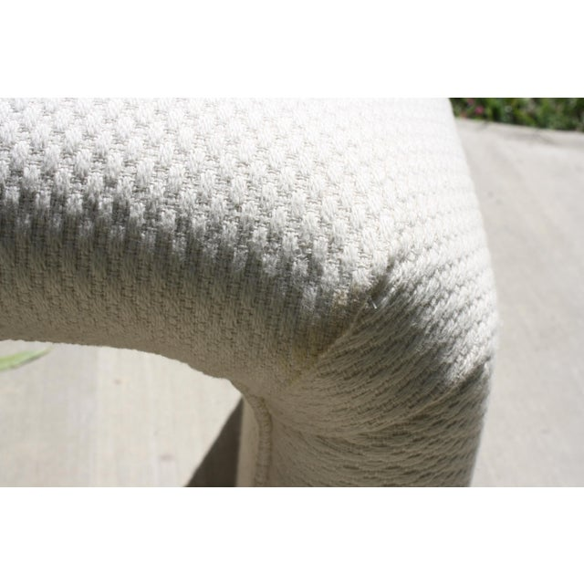 Cotton Vintage Waterfall Stool For Sale - Image 7 of 11