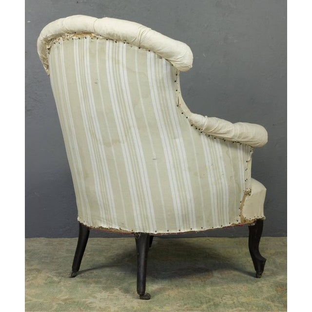 Pair of French Armchairs in Muslin - Image 5 of 11