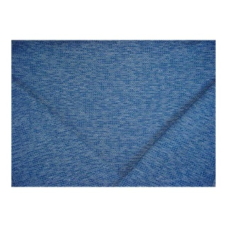 Scalamandre Torrs Ultramarine Textured Tweed Upholstery Fabric - 3 1/2 Yards For Sale
