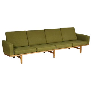Hans J. Wegner Danish Oak Sofa