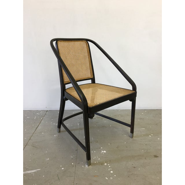 Josef Hoffmann Caned Side Chair For Sale - Image 13 of 13