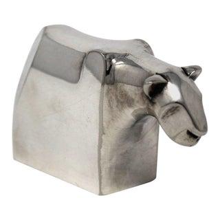 Dansk Designs Lioness Silver Plate Paperweight