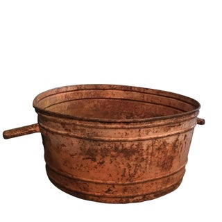 Antique French Copper Tubs, Circa 1910 For Sale