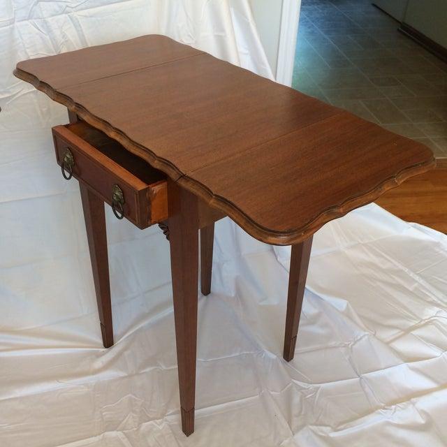 Vintage Drop Leaf Side Tables - A Pair - Image 5 of 9
