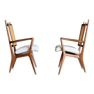 Vladimir Kagan Armchairs for Grosfeld House Circa 1950 For Sale