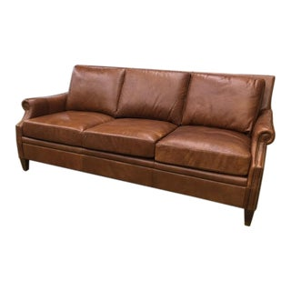 Leather Vintage Inspired Sofa
