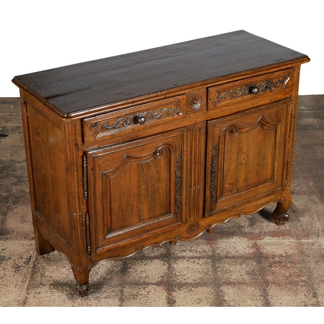 18th-Century Louis XV French Provincial Buffet - Image 2 of 10