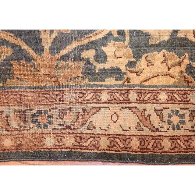 Textile Antique Persian Tabriz Rug - 4′2″ × 6′4″ For Sale - Image 7 of 8