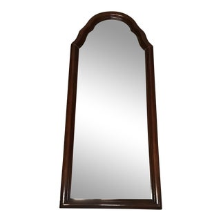 1900s French Provincial Style Wood Frame Wall Hanging Mirror