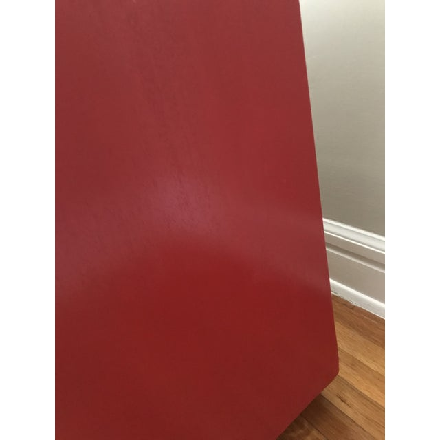 1950s Mid Century Modern t.h Robsjohn Gibbings Chinese Red Chest For Sale In Saint Louis - Image 6 of 8
