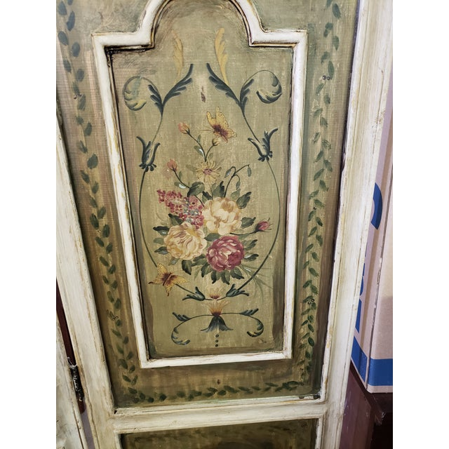 Antique French Renaissance 3 Panel Screen For Sale In Palm Springs - Image 6 of 7