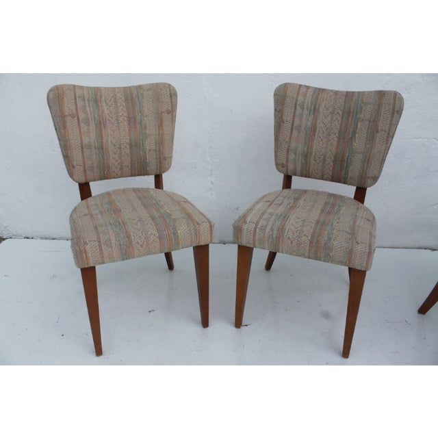 Heywood-Wakefield Dog Bone Chairs - Set of 6 For Sale - Image 5 of 11