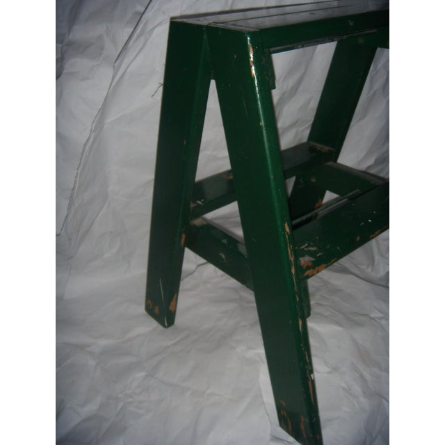 1950s Old Country Step Stool For Sale - Image 5 of 6