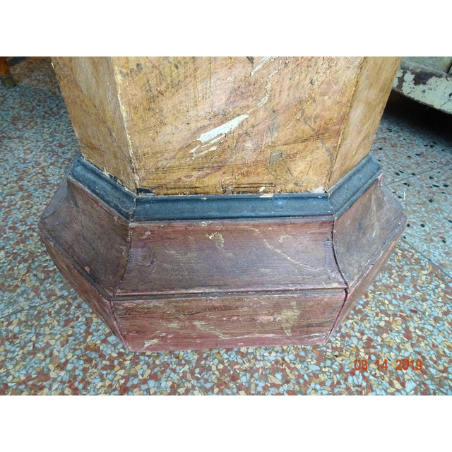 19th Century Italian Pedestal For Sale - Image 4 of 11