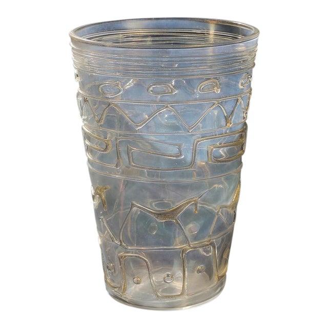 Ermanno Nason Vase With Original Drawing For Sale