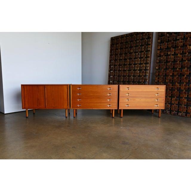 Danish Modern Hans Wegner Chests - Set of 3 For Sale - Image 3 of 13