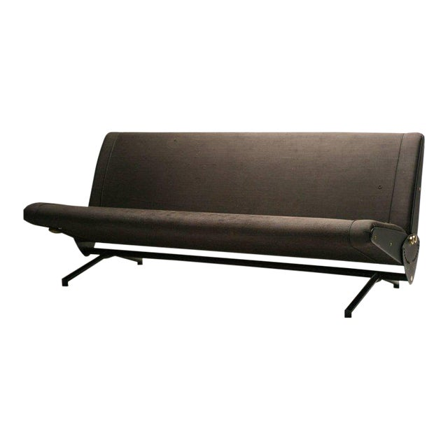 Sofa Daybed D70 Designed by Osvaldo Borsani for Tecno For Sale