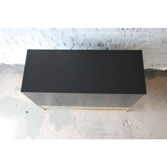 "Gold Paul McCobb for Calvin ""Irwin Collection"" Sideboard Credenza For Sale - Image 8 of 12"