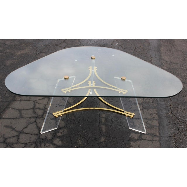 Gold 1960s Vintage Charles Hollis Jones Coffee Table For Sale - Image 8 of 10