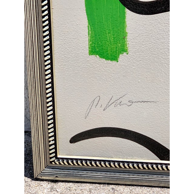 Green Peter Keil, Portrait of a Woman For Sale - Image 8 of 10