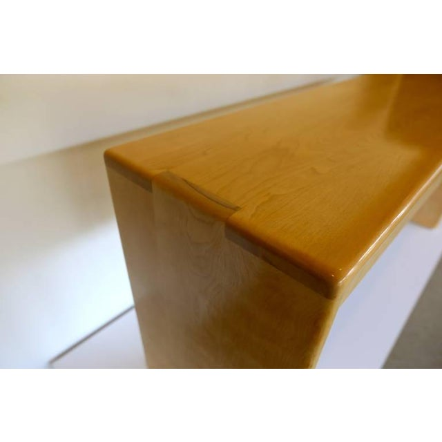 Gerald McCabe Solid Birch Console Table - Image 2 of 7