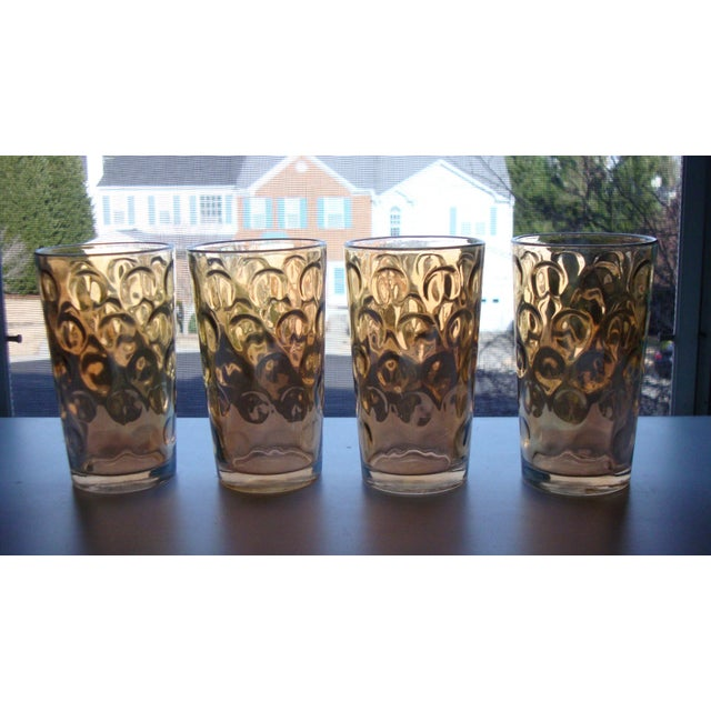 Mid-Century Hollywood Regency High Ball Glasses - Image 2 of 11