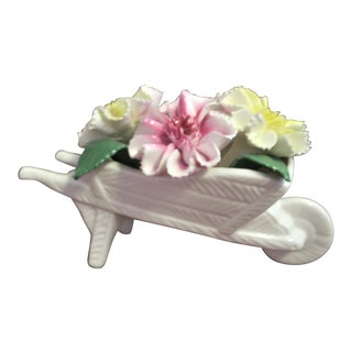 Royal Staffordshire Flower Barrow Figurine For Sale