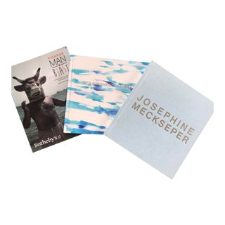 Pablo Picasso, Josephine Meckseper, Isca Greenfield-Sanders Gallery Books - Set of 3 For Sale