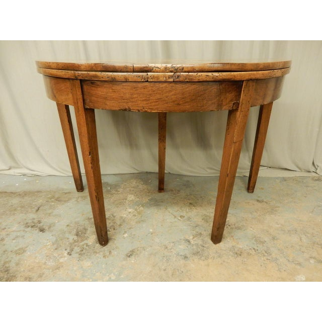 French Provincial Early 19th C. French Provincial Game Table For Sale - Image 3 of 8