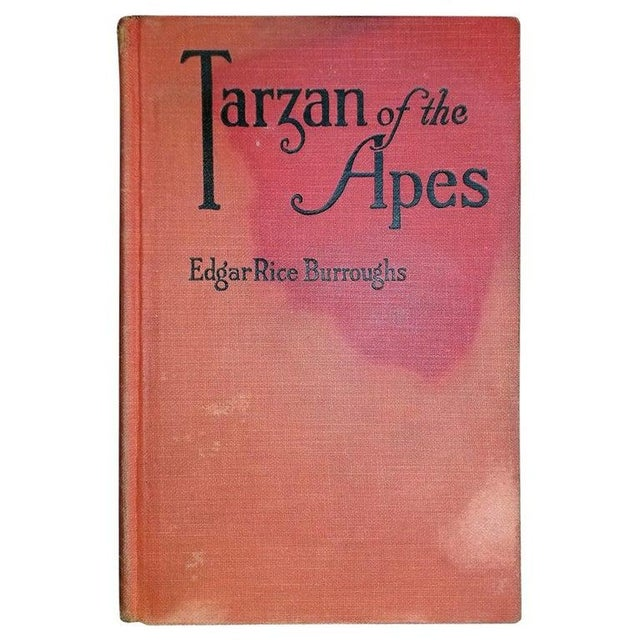 Tarzan of the Apes by Edgar Rice Burroughs Grosset 1st Edition For Sale - Image 10 of 10